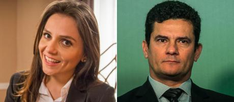 Monica Iozzi ironiza Moro aceitar convite de Bolsonaro