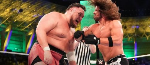 AJ Styles defended the WWE Championship against Samoa Joe at WWE Crown Jewel on November 2. - [WWE / YouTube screencap]