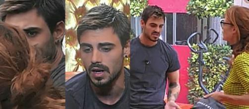 Gf Vip: Jane Alexander chiede spiegazioni a Francesco Monte sull'affaire 'omofobia'.