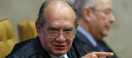 Gilmar Mendes se manifesta sobre decisão de Moro ser ministro. (foto reprodução).