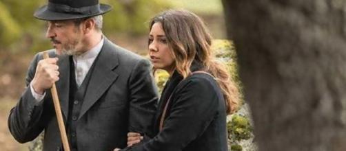 Il Segreto, puntate italiane: addio a Emilia ed Alfonso Castaneda