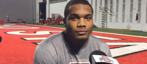 J.K. Dobbins interview with Ohio State. [Cleveland.com / YouTube screencap]