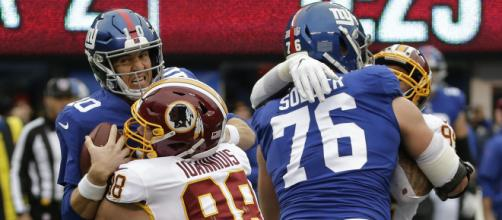 Redskins derrotan a los Giants en NY y son la sorpresa en la NFC Este con marca de 5-2