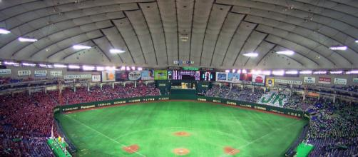 The Tokyo dome in Tokyo, Japan. [image source: DX Broadrec- Wikimedia Commons]
