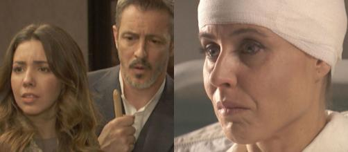 Trame, Il Segreto: la Casona in vendita, Alfonso e la moglie rapiti ed Adela paralizzata