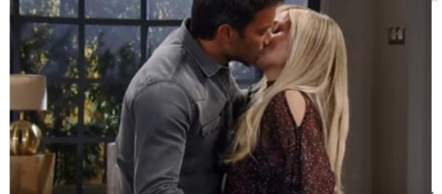 Dominic Zampragna returns to GH, as Dante, for one day in November. [Image Source: General Hospital-YouTube]