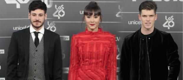 Aitana coincide en un evento con su ex y con su amigo Miguel Bernardeau