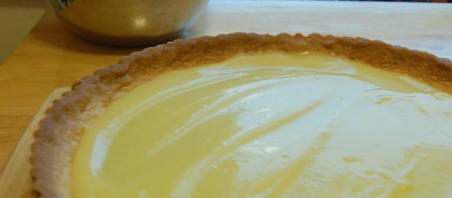Super simple lemon-lime tart recipe