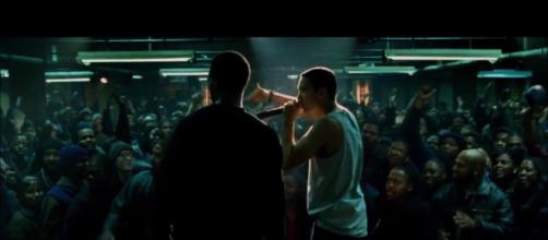 Big blockbusters coming to Netflix in December, like 8 Mile [Image via Universal]