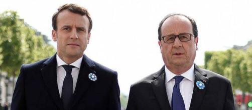 Emmanuel Macron dénonce le 'cynisme' de François Hollande