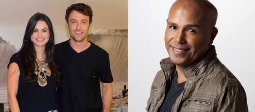 Os atores Kayky Brito e Sthefany Brito, assim com Rick, da dupla com Renner, prestaram homenagem aos pais nas redes sociais.