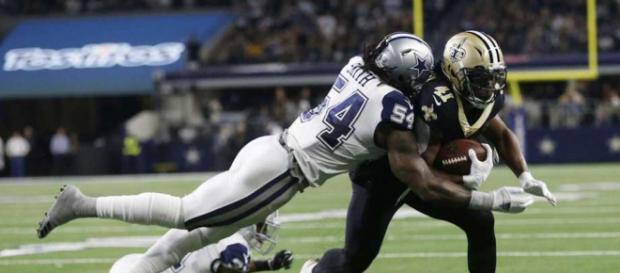 La defensiva de Dallas fue la estrella del partido. - nfl.com.