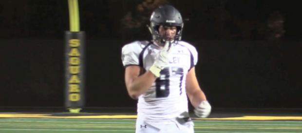 Ty Robinson is an athletic prospect who can play defense and tight end positions well. - [azfamily 3TV & CBS5AZ / YouTube screencap]