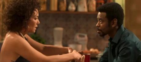 Na reta final da trama, Roberval tenta reconquistar sua amada