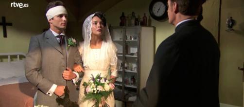 Anticipazioni, Una Vita: Blanca sposa Samuel per salvarlo da morte certa