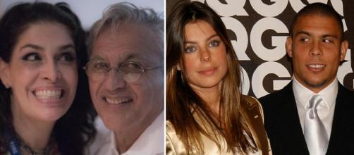 Casais famosos que romperam o casamento em ritmo de 'babado e confusão'. (foto reprodução)