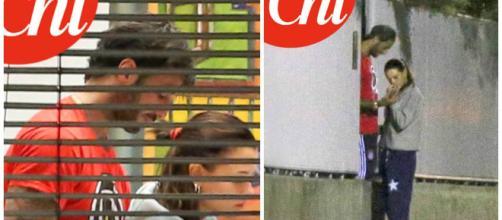 Fabrizio Corona bacia la nuova compagna - chedonna.it