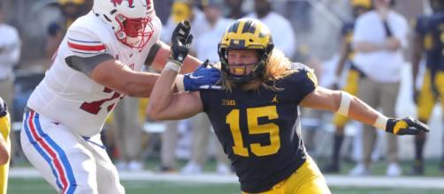 Michigan's defense shined once again. - [ESPN / YouTube screencap]