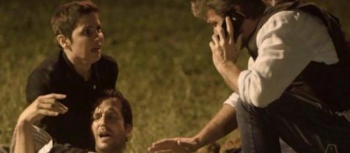 Nesta segunda-feira (05), Karola irá salvar a vida de Beto. (foto reprodução).