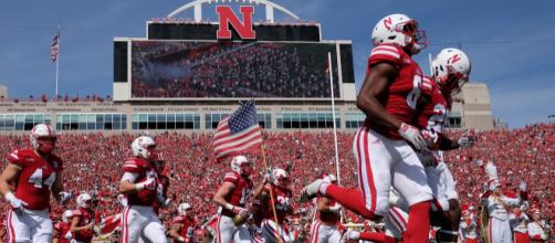 The Huskers fell just short against the Buckeyes. [Image via ESPN/YouTube]