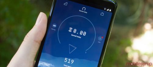 Un'immagine dell'applicazione del momento.