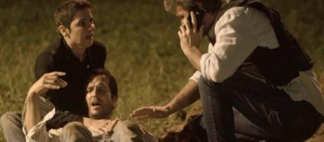Remy é baleado no ombro e Laureta foge