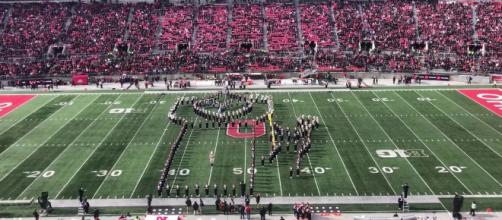 Boise State, Ohio State pay tribute to Nebraska band member who lost his life [Image via Ohio State football on Cleveland.com/YouTube]