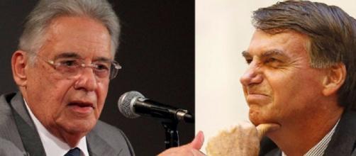 Bolsonaro e FHC trocam farpas no Twitter
