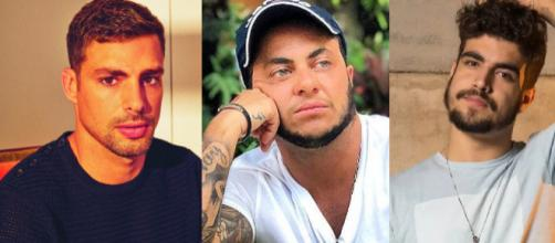 Cauã Reymond Thammy e Caio Castro