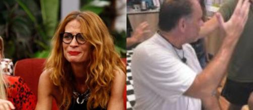 Grande Fratello Vip: Jane preoccupata per il figlio, Cecchi Paone litiga con Maria Monsè