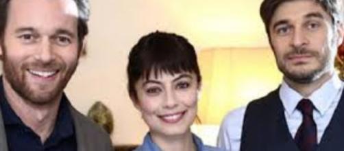 I tre protagonisti della seconda stagione de 'L'Allieva'.