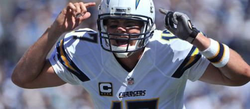 The LA Chargers are surging behind Philip Rivers. [Image via USA Today Sports/YouTube]