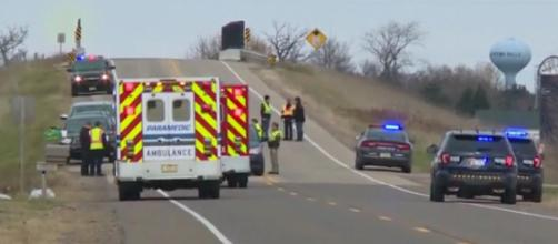 3 Wisconsin Girl Scouts killed in hit-and-run incident. [Image courtesy – WTHR/YouTube video]
