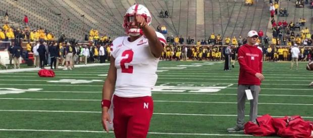 Adrian Martinez has the Huskers going in the right direction. [Image via KETV NewsWatch 7/YouTube]