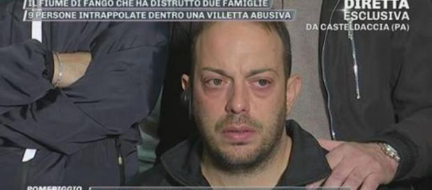 Giuseppe Giordano ha raccontato il suo dramma a Pomeriggio 5