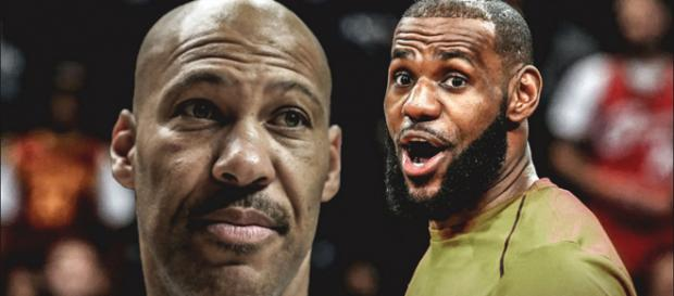LaVar Ball causing problems for LeBron James / Image by Brandon Robinson / Twitter