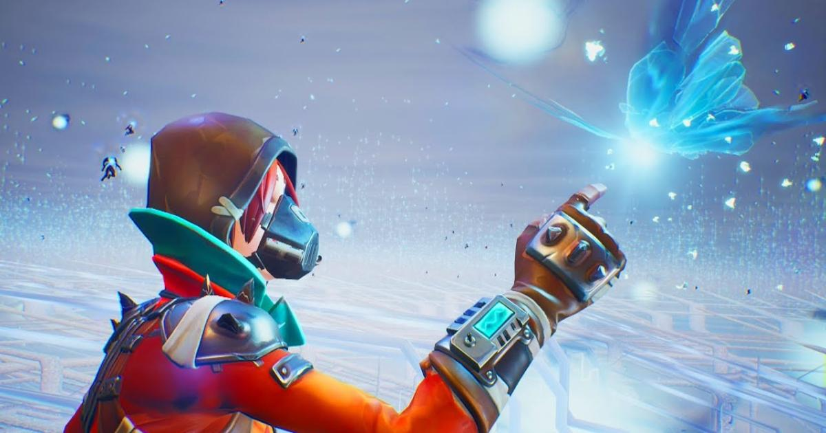 fortnite a new dimension opened in one time only butterfly event video - rift butterfly fortnite