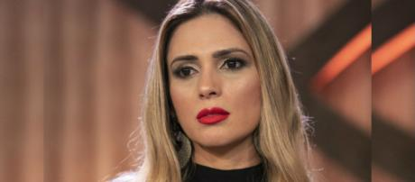 Acusada de agredir Caique, Nadja foi expulsa do reality da Record. (foto reprodução).