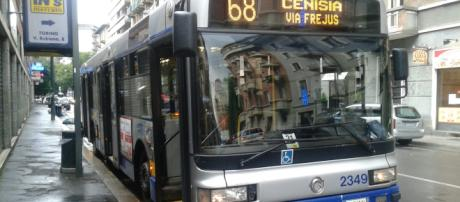 La linea 68 che connette gran parte della città