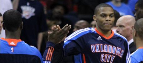 Russell Westbrook was named Western Conference Player of the Week for October 29-November 4. - [Flickr / Keith Allison]