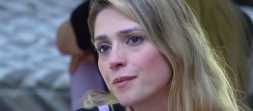 Nadja Pessoa, esposa do cantor D'Black, foi parte central de confusão nos dias 5 e 6 (Reprodução/RecordTV)