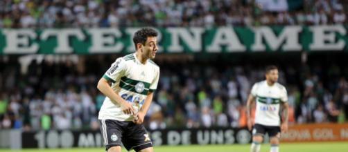 Daniel jogou pelo Coritiba no ano passado. (foto reprodução)