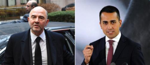 Ennesimo botta e risposta tra Luigi Di Maio e Pierre Moscovici