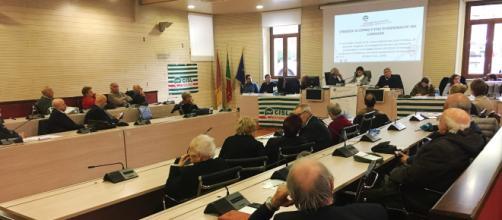 Sala Consiliare del terzo Municipio di Roma: tavola rotonda sulla prevenzione organizzata dalla FNP CISL il 6 novembre 2018