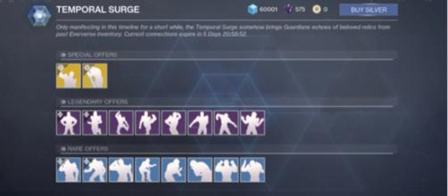 The first Temporal Surge will run from November 6 through November 13. [Image source: Cheese Forever/YouTube]