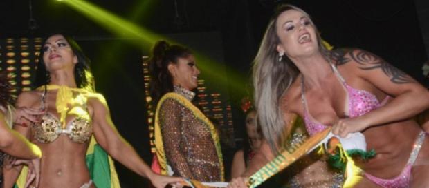 Concorrente derrotada toma faixa de Miss Bumbum 2018