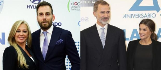 Esteban, Prieto y los Reyes, el lunes en la fiesta de La Razón. / E. Press - Lecturas