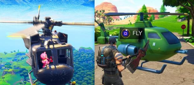 Flying vehicle is coming to Fortnite Battle Royale. [Image Credit: Own work]