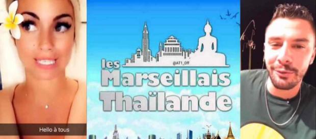 Les Marseillais donnent des nouvelles en direct du tournage en Thaïlande.