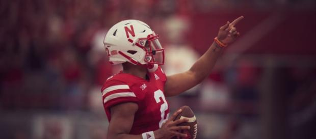 Nebraska's freshman QB Adrian Martinez could lead the Huskers to several school records against Illinois. - [Elite Sports / YouTube screencap]